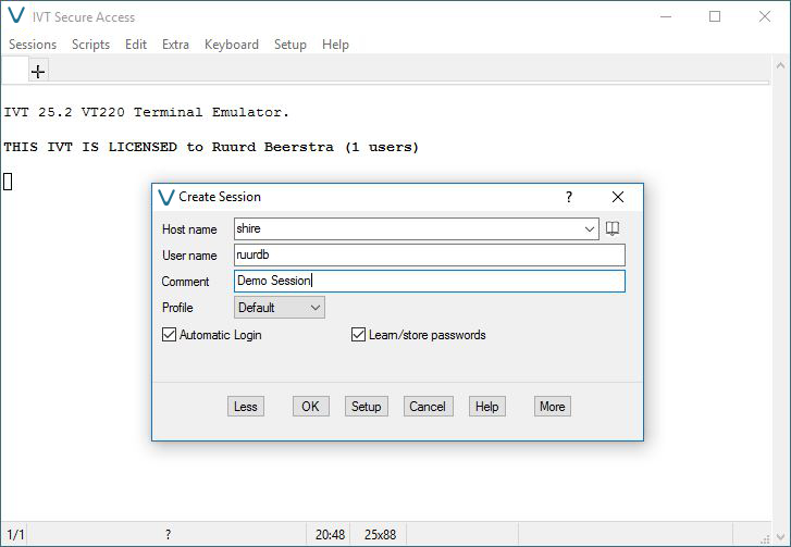 IVT Secure Access 32 bit Screen shot